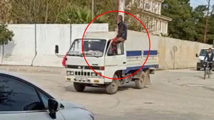 Mardin'in Kızıltepe ilçesinde pes dedirten görüntü! Görenler gözlerine inanamadı