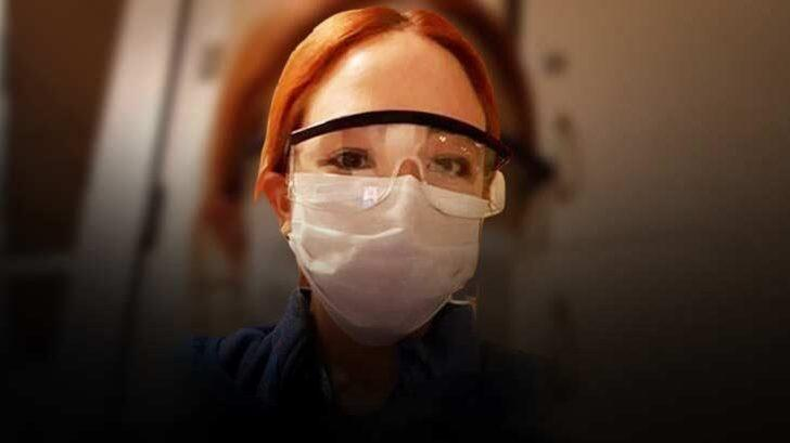 KKTC Başbakanı'nın doktor kızı, Hacettepe Hastanesi'nde gönüllü olarak görev yapıyor