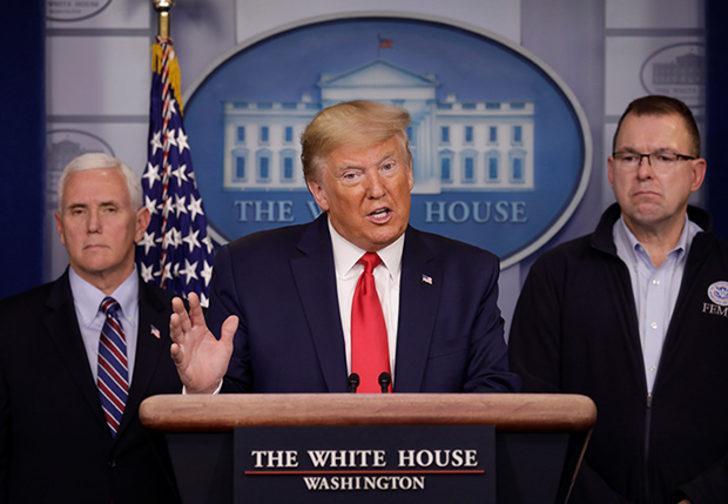 Trump duyurdu: Koronavirüs nedeniyle 3 eyalette ulusal muhafızlar harekete geçirildi