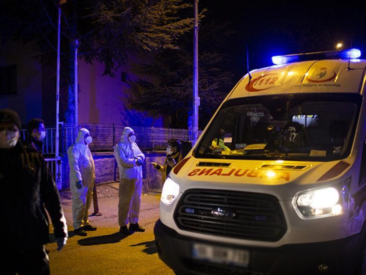 Ankara'da bir kişi koronavirüs karantinasından kaçtı