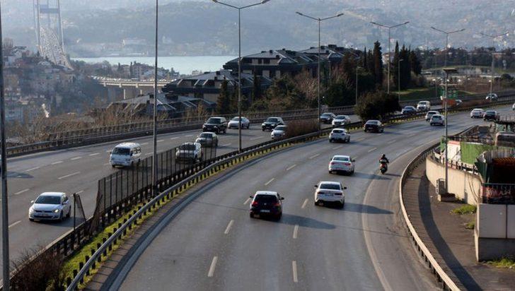 İstanbul trafiğine koronavirüs etkisi! Trafik yoğunluğu yüzde 15