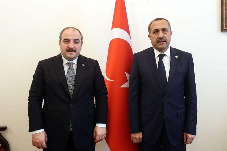 Milletvekili Arvas, Sanayi ve Teknoloji Bakanı ile Van'ı görüştü