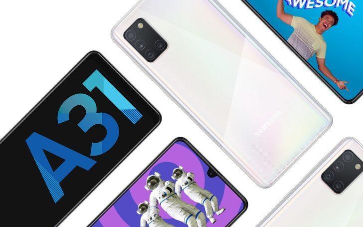 Dev bataryalı dört kameralı: Samsung Galaxy A31 tanıtıldı! İşte özellikleri