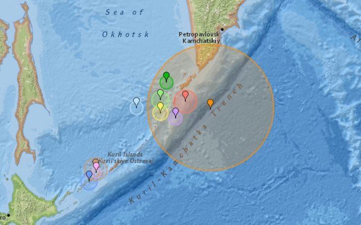 Kuril Adaları nerede? Rusya'nın Kuril Adaları'nda 7,5 şiddetinde deprem!