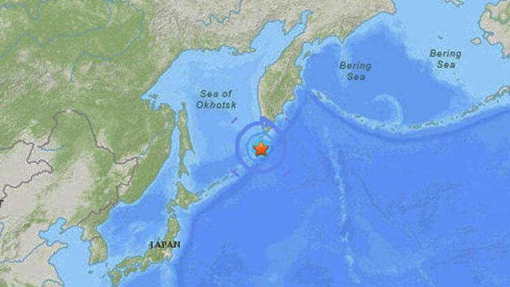 Son dakika! Rusya'nın Kuril bölgesinde 7,5 büyüklüğünde deprem