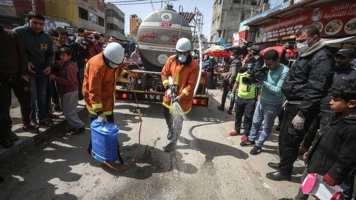 Gazze Şeridi'nde koronavirüs korkusu: İlk iki vakanın ardından büyük bir salgın gelebilir