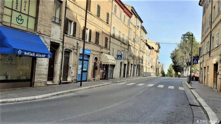 +++Canlı Anlatım: İtalya'da şirket ve fabrikalar kapatıldı