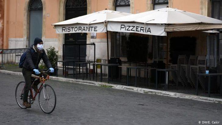 Kilit altındaki İtalya'da hayat