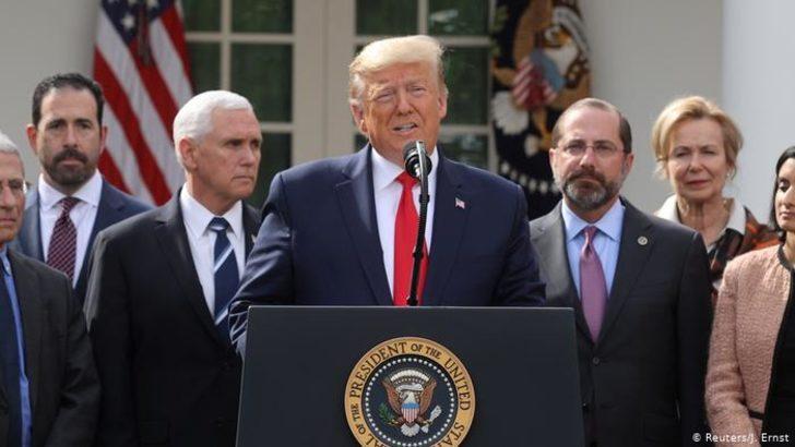 "Trump ""ulusal acil durum"" ilan etti"