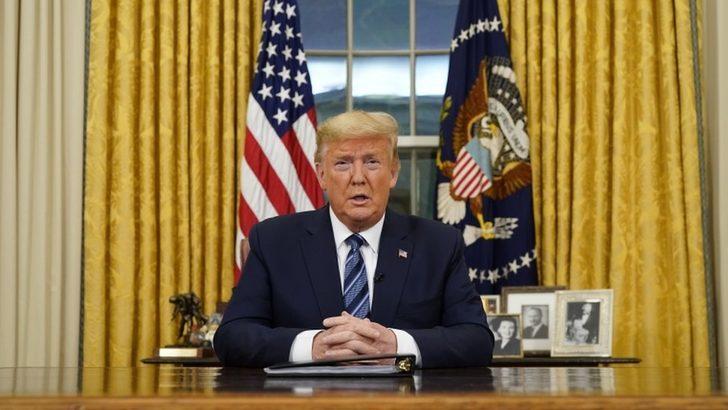 Koronavirüs (Covid-19): Trump, virüsle mücadele kapsamında Avrupa'dan ABD'ye seyahatleri 30 gün askıya aldı