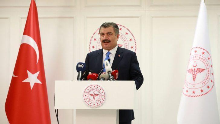 Sağlık Bakanı Fahrettin Koca duyurdu! Koronavirüs nedeniyle hayatını kaybedenlerin sayısı 75'e yükseldi
