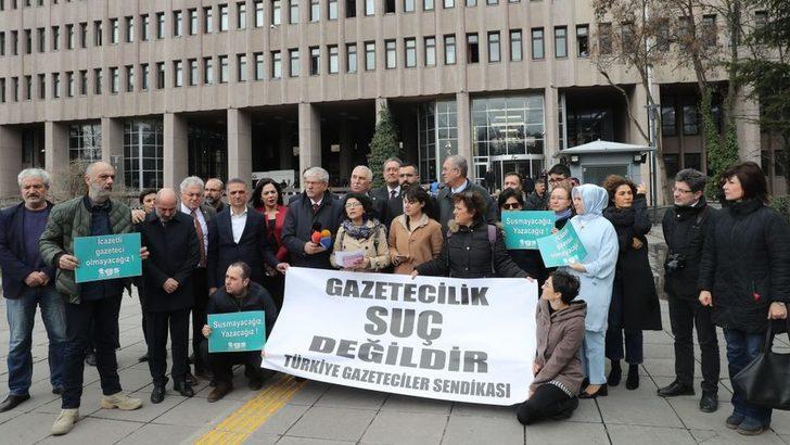 """CHP'den tutuklu gazeteciler çağrısı: """"Gazeteciler serbest bırakılmalı"""""""
