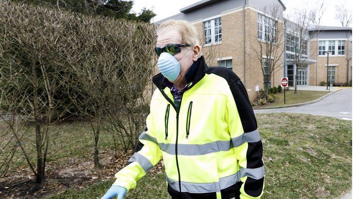 Koronavirüs (Covid-19): New York eyaletindeki bir kentte virüsle mücadele için 'karantina bölgesi' oluşturuldu