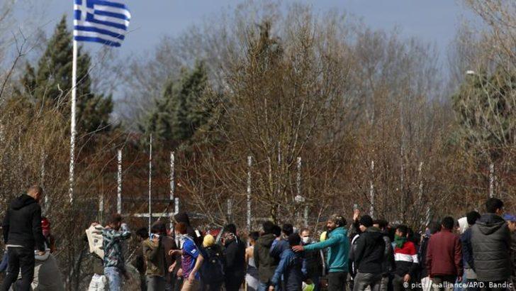 Türkiye-Yunanistan sınırında sığınmacı gerginliği sürüyor