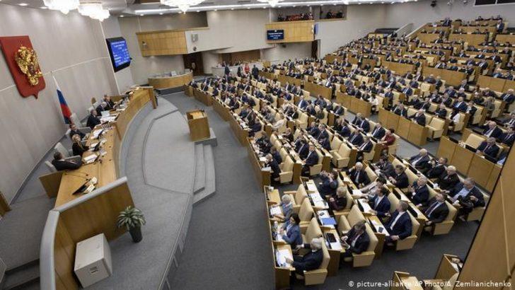 Duma Putin'in getirmek istediği anayasa değişikliğini bir kez daha onayladı