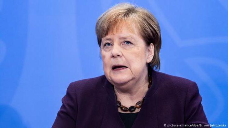 Merkel'den Suriye'de güvenli bölge önerisi