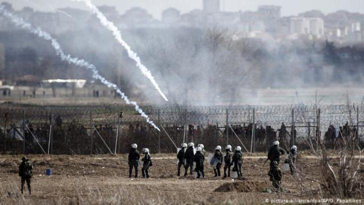 Türkiye-Yunanistan sınırında göz yaşartıcı gaz atıldı