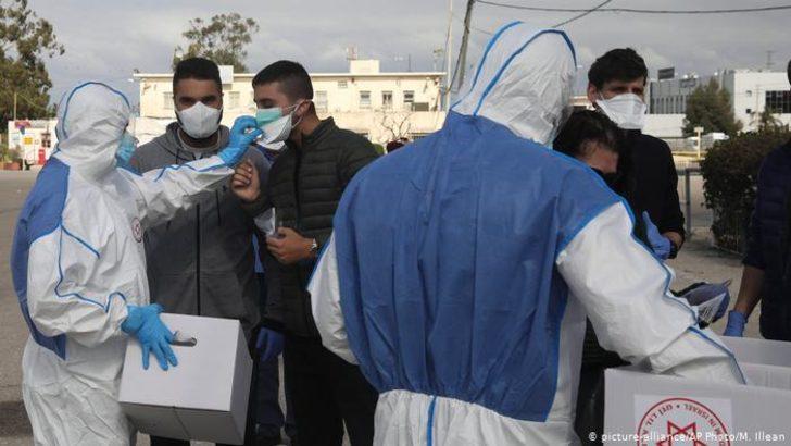 Filistin ve İsrail'de koronavirüs alarmı