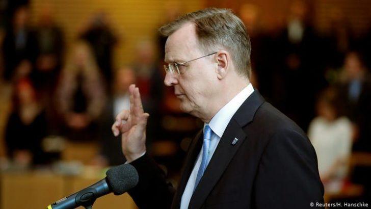 Krize neden olan Thüringen'de başbakan seçildi