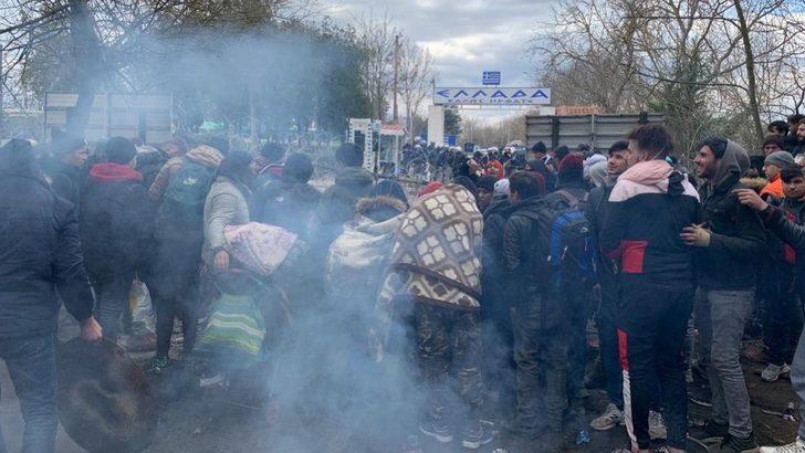 Edirne: 'Sınırdaki' göçmenler