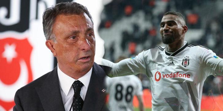 Beşiktaş Başkanı Ahmet Nur Çebi, Boateng'e sinirlendi!