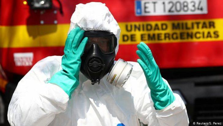 İspanya'da ölü sayısı Çin'i geçti