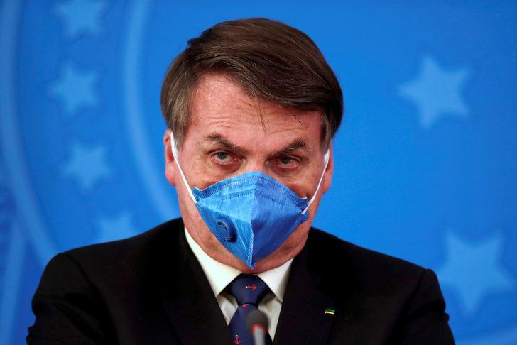 Brezilya Devlet Başkanı Bolsonaro'dan koronavirüs açıklaması: Basit bir grip