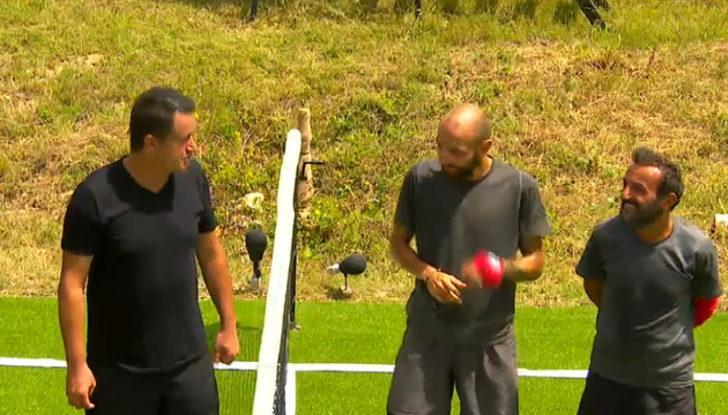 Survivor'da Acun Ilıcalı, Sercan ve Ersin'e karşı yarıştı! Survivor'da ayak tenisi maçını kim kazandı?