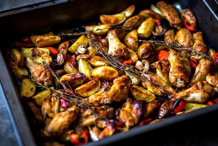 Fırında soslu kanat nasıl yapılır?