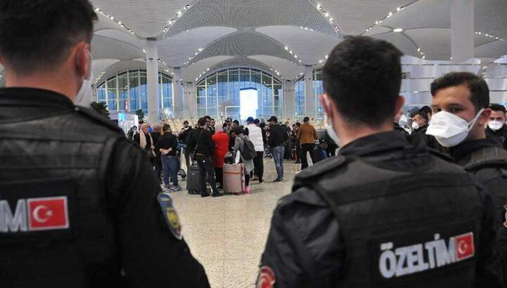 1500 kişi polis eşliğinde Karabük'e gönderildi