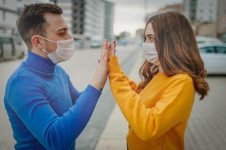 Koronavirüs sürecinden fiziksel değil, duygusal temasta olun!