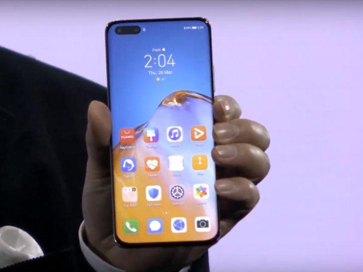 Serinin ilki: Huawei P40 tanıtıldı! İşte özellikleri, fiyatı
