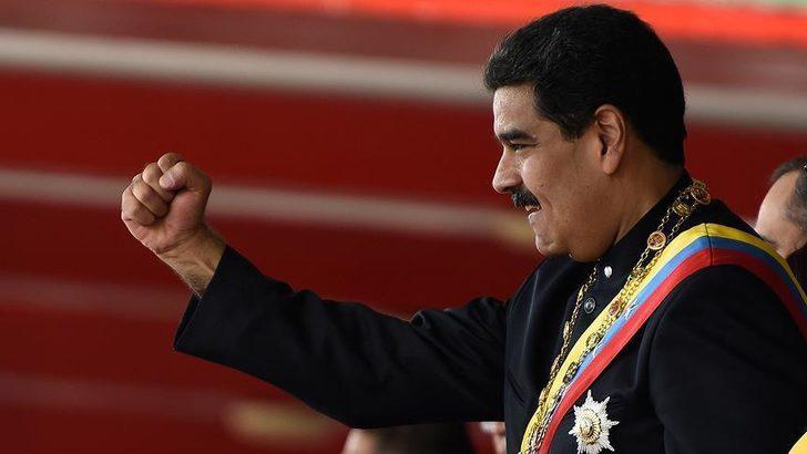 ABD'den Maduro için 15 milyon dolar ödül