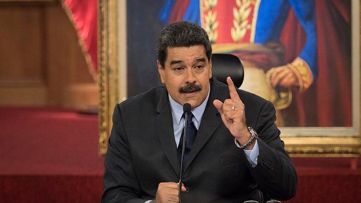 Venezuela Devlet Başkanı Maduro'ya Rusya'nın geliştirdiği Sputnik V aşısından yapıldı