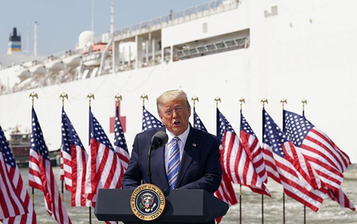Trump'tan New York, New Jersey ve Connecticut için 'zorunlu karantina' açıklaması
