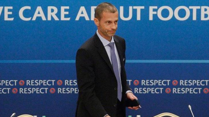 UEFA Başkanı Aleksander Ceferin: Üç seçenek var