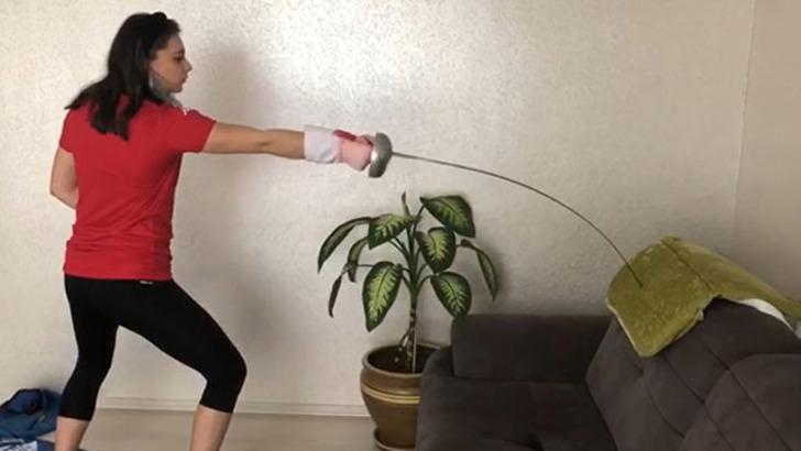 Selin Eyüpoğlu: Olimpiyat için çalışmalarıma evde devam ediyorum