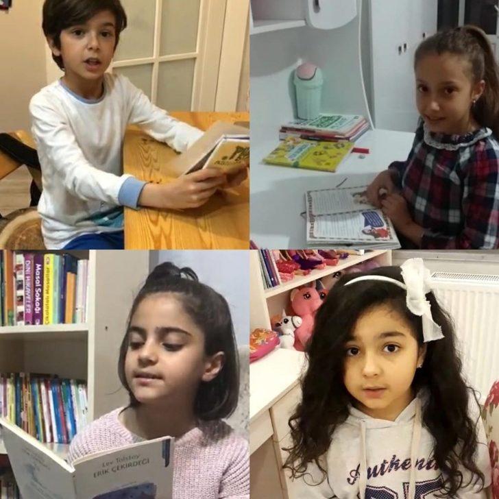 Öğrenciler 'kitap okumada' meydan okudu