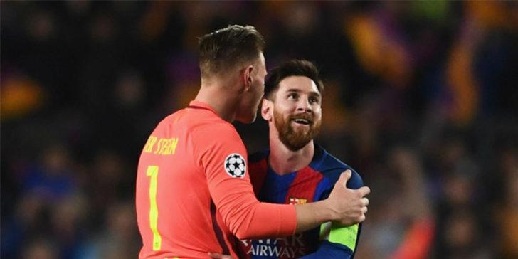 Barcelona'nın yıldız oyuncusu Andre ter Stegen'den ilginç açıklama
