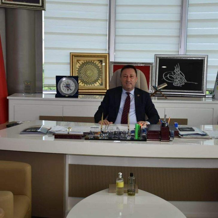 Başkan Beyoğlu'ndan Milli Dayanışma Kampanyasına iki maaşla destek