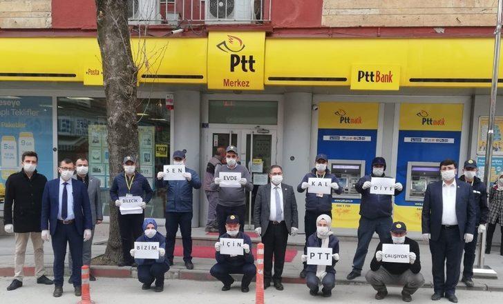 PTT'den müşterilerine anlamlı mesaj