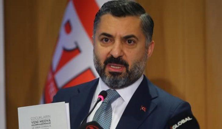 RTÜK Başkanı Ebubekir Şahin'den koronavirüs yayını açıklaması