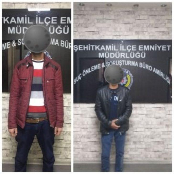Gaziantep'te cezaevi firarisi iki şahıs yakalandı