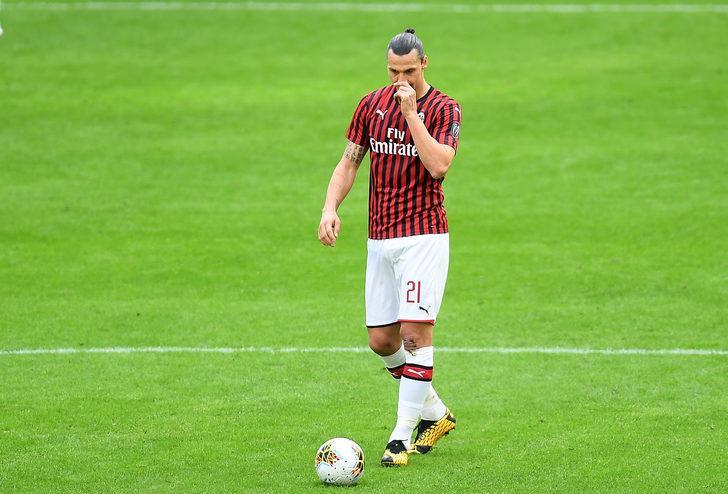 Milan'da Ibrahimoviç şoku! 6 maçı kaçıracak...