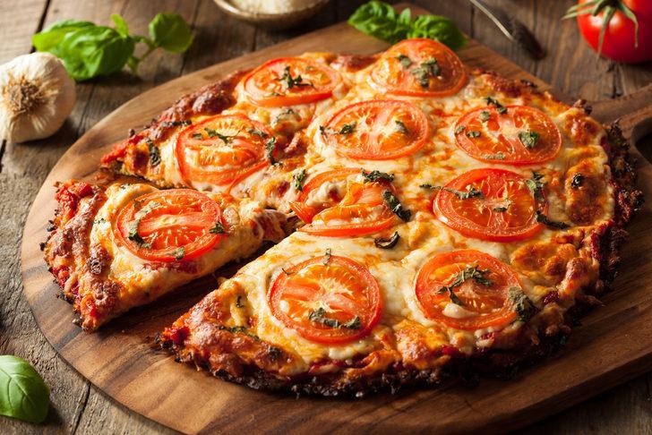 Şişmanlatmayan pizza tarifi