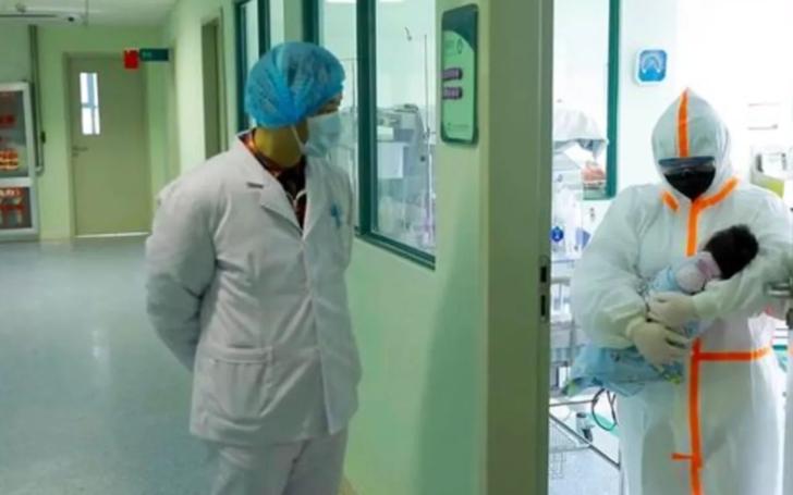 800 gram ağırlığındaki bebek koronavirüsüne yakalandı