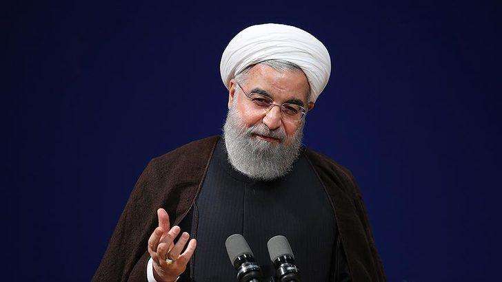 İran Cumhurbaşkanı Ruhani duyurdu: Yüksek risk bulunmayan işletmeler faaliyetlerine başlayabilecek