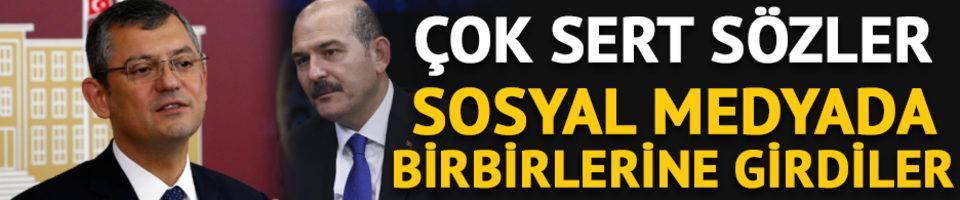 Süleyman Soylu ile Özgür Özel sosyal medyada birbirine girdi