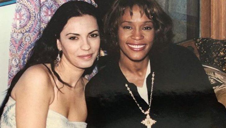 Yeşim Salkım'dan Whitney Houston paylaşımı