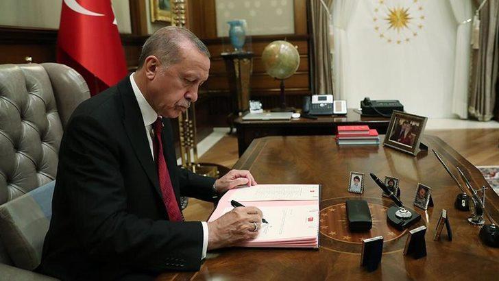 Cumhurbaşkanı Erdoğan'dan 16 üniversiteye rektör ataması